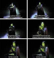 Wicked The Musical Memes - wicked the musical by wingpoltergeist on deviantart wicked pinterest