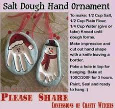 salt dough ornaments crafts dough