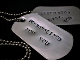 customized dog tag necklaces customized sted dog tag necklace stainless steel