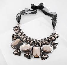 color rhinestone necklace images Nanbo new colorful geometric gem stone rhinestone boho chunky jpg