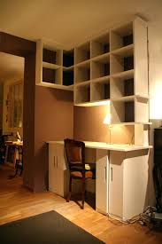 bibliothèque avec bureau intégré bibliothaque bureau integre bibliothaque moderne a la maison 20
