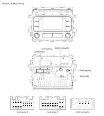 kia soul audio wiring diagram kia wiring diagrams instruction