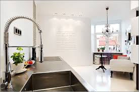 hi tech kitchen faucet home designs swirly kitchen faucet a fabulous techy swedish