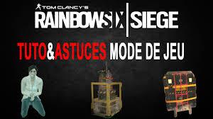 des jeux siege tuto astuces mode de jeu rainbow six siege