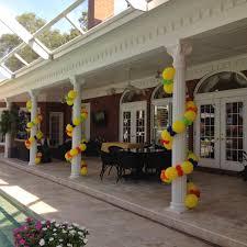 pool balloon decor tips balloon coach