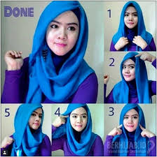 tutorial hijab segitiga paris simple 22 model hijab segi empat simple 2017 untuk ke kantor fashion