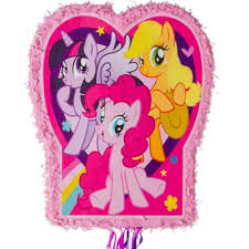 my pony pinata pull string pink my pony pinata 21 1 2in x 18in party