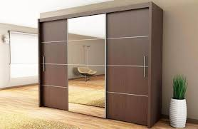 Sliding Closet Doors Wood Wood Sliding Closet Doors With Mirrors
