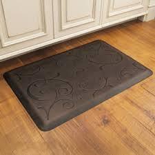 tapis anti fatigue pour cuisine tapis pour cuisine un tapis de cuisine peint au sol pour un look