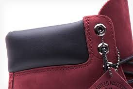 womens timberland boots size 9 timberland burgundy 6 inch boot limited release