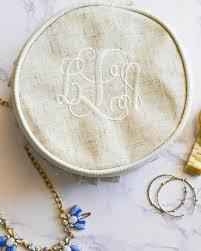 monogram jewlery monogrammed linen jewelry carolina dandy