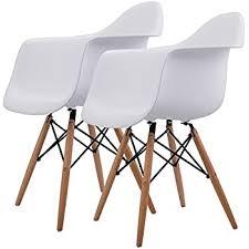 Danish Modern Furniture Legs by Amazon Com Giantex Set Of 4 Mid Century Modern Style Dsw Dining