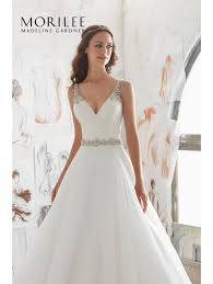 wedding dresses with straps mori 5507 marlow crepe dress with beaded lace bodice and straps