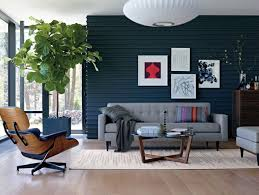 sleek home with modern lounge chair design also corner bookcase