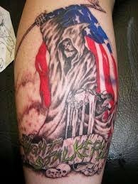 a soldier going back to iraq god speed brother tattoo