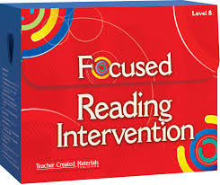 focused reading intervention teacher created materials