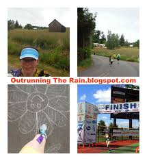outrunning the rain race recap helvetia half marathon 10k and