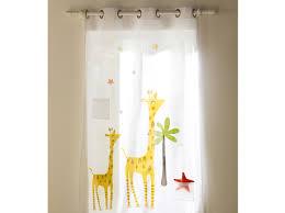 rideaux pour chambre enfant rideau pour chambre enfant mineral bio