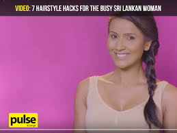 srilankan hairstyle 7 hairstyle hacks for the busy sri lankan woman pulse
