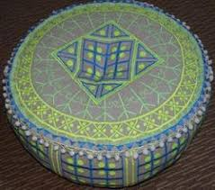 knitted poufs in jaipur rajasthan bune hue pouf suppliers