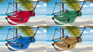 best choice products hammock hanging chair air deluxe sky swing