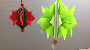 easy origami ornament decoration