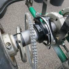track testing transmission ratio adjustment karting mag
