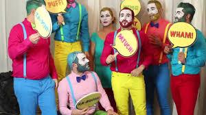comic strip halloween makeup comic book makeup male images