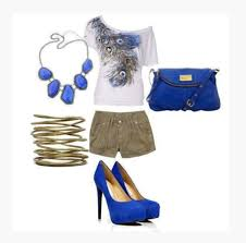 Peacock High Heels Shirt Top Clothes Blouse Off The Shoulder Short Sleeve