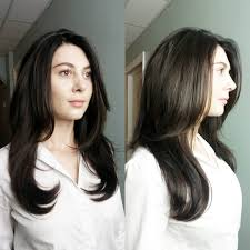 medium length dark brown hairstyles dark ash brown layered mid length hair medium length layered