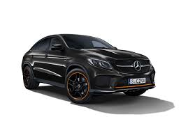 orange mercedes mercedes adds some orange zest to the gle coupe autoguide com news
