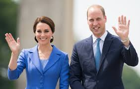 just like us prince william and kate middleton are traveling to