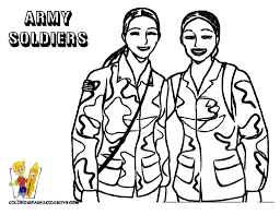 military coloring page free army soldier bebo pandco