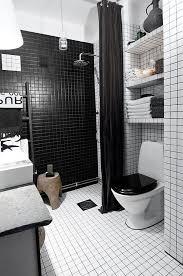black white and silver bathroom ideas baños en blanco y negro elegancia personificada bath small