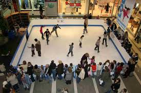 synthetic ice rink hire rental ice magic international mobile