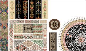 vector owen s grammar of ornament vector images on cd or by