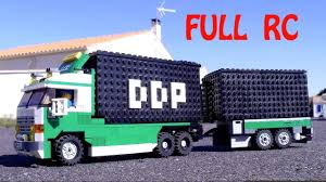 moc lego small truck 8 wide ddp transports full rc with