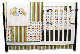 Mini Crib Bedding Set Boys Trend Lab Dr Seuss 4 Crib Bedding Set Abc