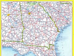 Florida Alabama Map by 1959 Conoco Touraide Road Atlas Alabama Georgia South Ca U2026 Flickr