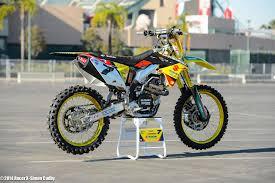 z racing motocross track suzuki rm z 450 j stewart team yoshimura suzuki factory racing