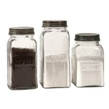 vintage style kitchen canisters clear kitchen canisters for less overstock com