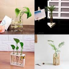 Test Tube Vase Holder Glass Test Tube Design Vase Pot Holder Container For Flowers