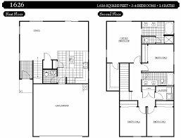 2 story house plans with 4 bedrooms three bedroom house plans two story home deco plans