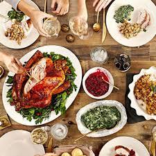 thanksgiving dinner 23rd nov 2017 wefifo