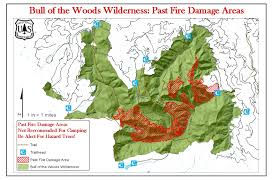 Oregon Fires Map Green Cascadia Bull Of The Woods Wilderness Fire Damage
