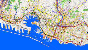 Map Of Genoa Italy by City Maps Genoa