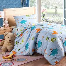 dinosaur world twin bedding kids bedding cotton bedding