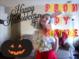 Popcorn Halloween Costume Diy Popcorn Halloween Costume
