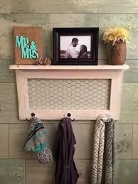 amazon com rustic home décor country farmhouse décor coat rack