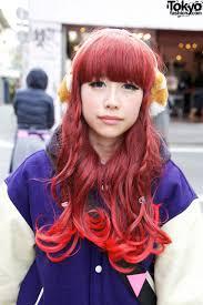 pink tip japanese hairstyle u2013 tokyo fashion news